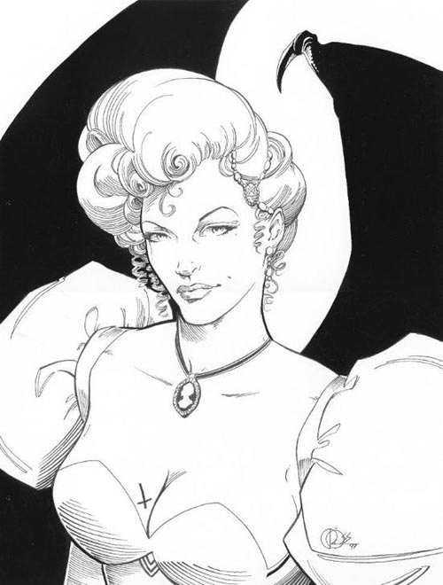 Daerick Gross Sr pin-up illustration gallery