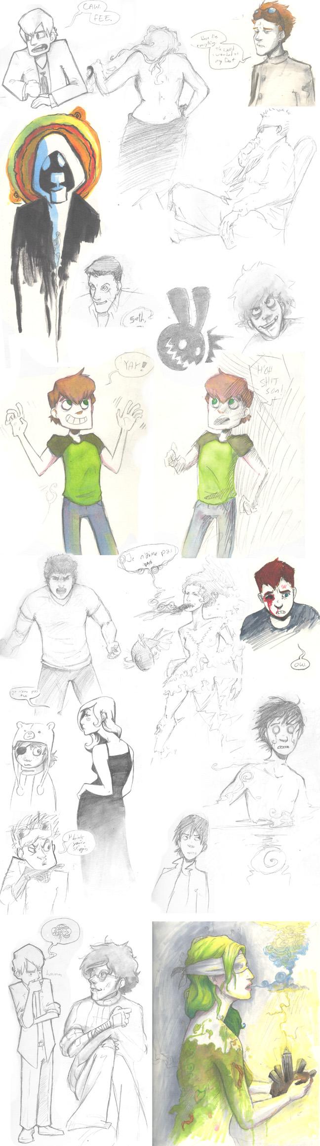 Maia Gross Cartoon Illustration
