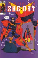 Murcielaga She-Bat comic appearance Heroic #1