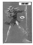 Murcielaga She-Bat comic appearance Kung-Fu Warriors #10 page 1