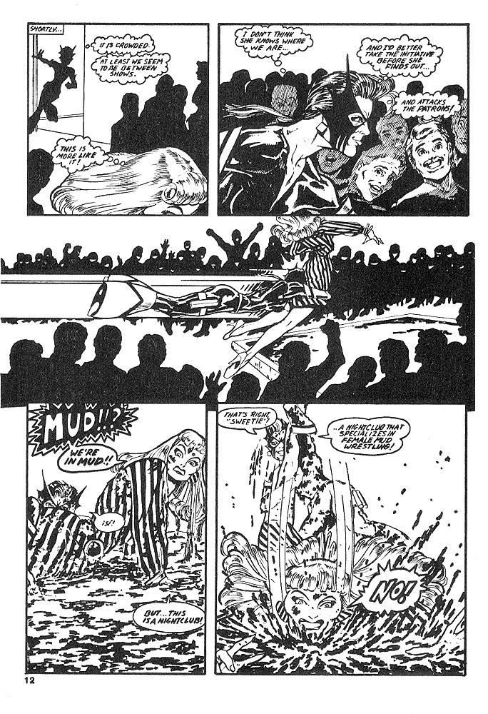 Murcielaga She-Bat comic appearance Kung-Fu Warriors #12 page 9