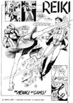 Murcielaga She-Bat first appearance Robowarriors #3 page 1
