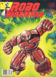 Murcielaga She-Bat comic appearance Robowarriors #7