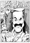 Murcielaga She-Bat first appearance Robowarriors #7 page 1