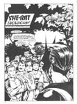 Murcielaga She-Bat first appearance Robowarriors #8 page 1