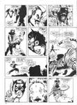 Murcielaga She-Bat first appearance Robowarriors #8 page 9