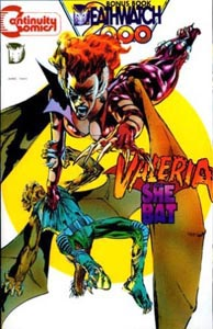 Neal Adams' Valeria, The She Bat
